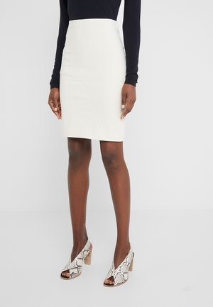 GONNA SKIRT - Gonna a tubino - antica beige