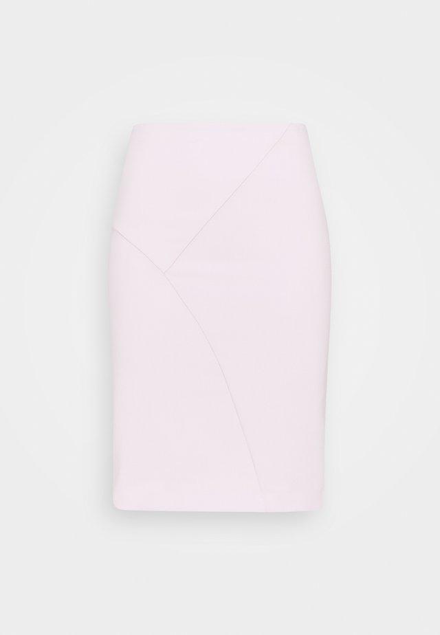SKIRT  - Spódnica ołówkowa  - lilac tulle
