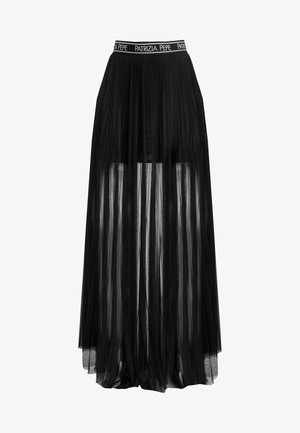 GONNA - Veckad kjol - nero