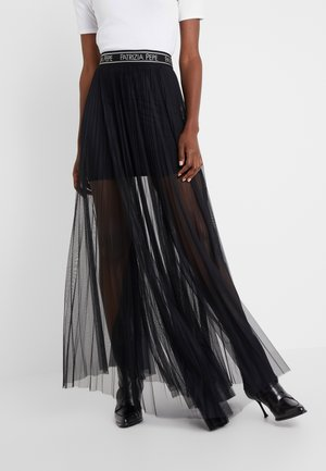 GONNA - Pleated skirt - nero