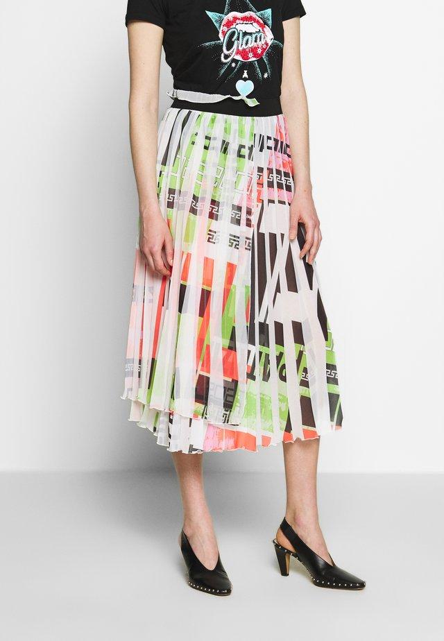 GONNA SKIRT - Spódnica trapezowa - multicolor olympic