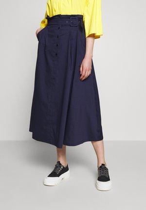 GONNA SKIRT - Áčková sukně - indigo