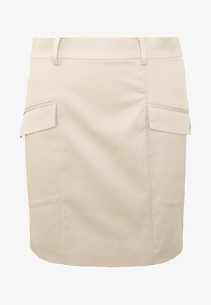 GONNA SKIRT - Mini skirt - sand