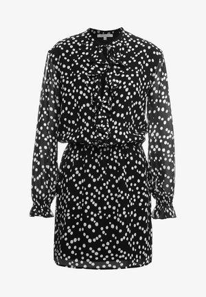 ABITO/DRESS - Shirt dress - black pois