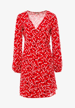 ABITO DRESS - Robe d'été - red pois