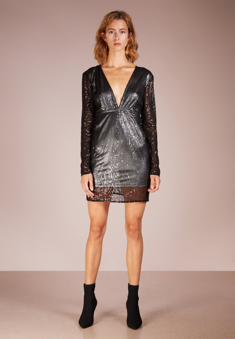 Patrizia Pepe - ABITO DRESS - Cocktailkleid/festliches Kleid - water black