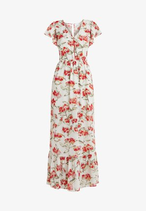 Maxi dress - white flowers