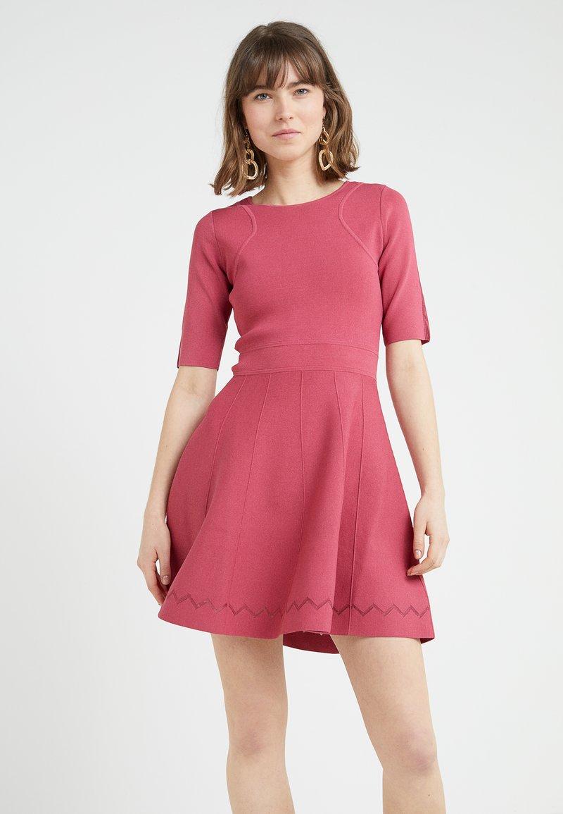 Patrizia Pepe - Vestido de punto - dusty rose