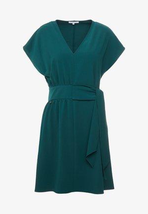 Korte jurk - self green