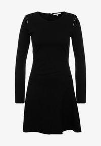 Patrizia Pepe - ABITO DRESS - Robe en jersey - nero - 4