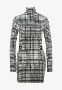 Patrizia Pepe - ABITO DRESS - Shift dress - grey