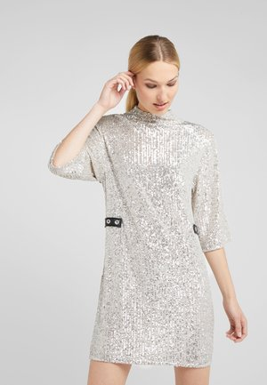 ABITO DRESS - Cocktailjurk - silver