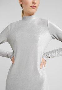Patrizia Pepe - ABITO DRESS - Sukienka letnia - moon silver - 6