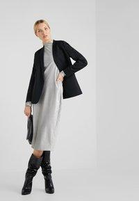 Patrizia Pepe - ABITO DRESS - Sukienka letnia - moon silver - 1
