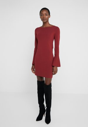 ABITO DRESS - Cocktail dress / Party dress - rosewood red