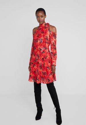 ABITO DRESS - Koktejlové šaty/ šaty na párty - red