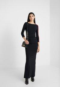 Patrizia Pepe - ABITO DRESS - Maxi dress - nero - 1