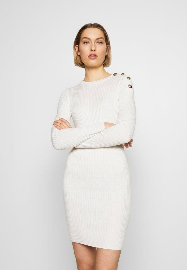 ABITO DRESS - Fodralklänning - bianco