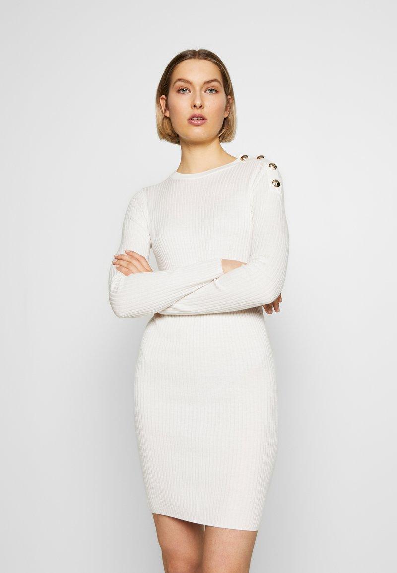 Patrizia Pepe - ABITO DRESS - Kotelomekko - bianco