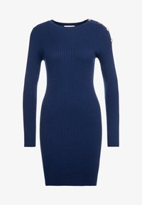 Patrizia Pepe - ABITO DRESS - Shift dress - navy - 4