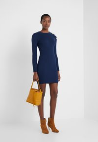 Patrizia Pepe - ABITO DRESS - Shift dress - navy - 1