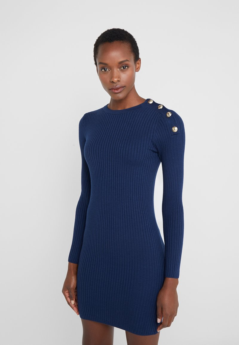 Patrizia Pepe - ABITO DRESS - Shift dress - navy