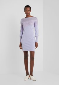 Patrizia Pepe - ABITO/DRESS - Shift dress - lavender sky