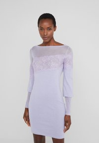 Patrizia Pepe - ABITO/DRESS - Shift dress - lavender sky - 0