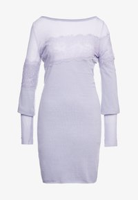 Patrizia Pepe - ABITO/DRESS - Shift dress - lavender sky - 4