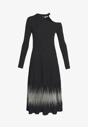 ABITO DRESS - Abito in maglia - nero