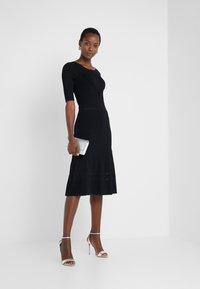 Patrizia Pepe - ABITO DRESS - Jumper dress - nero - 1