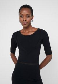 Patrizia Pepe - ABITO DRESS - Jumper dress - nero - 0
