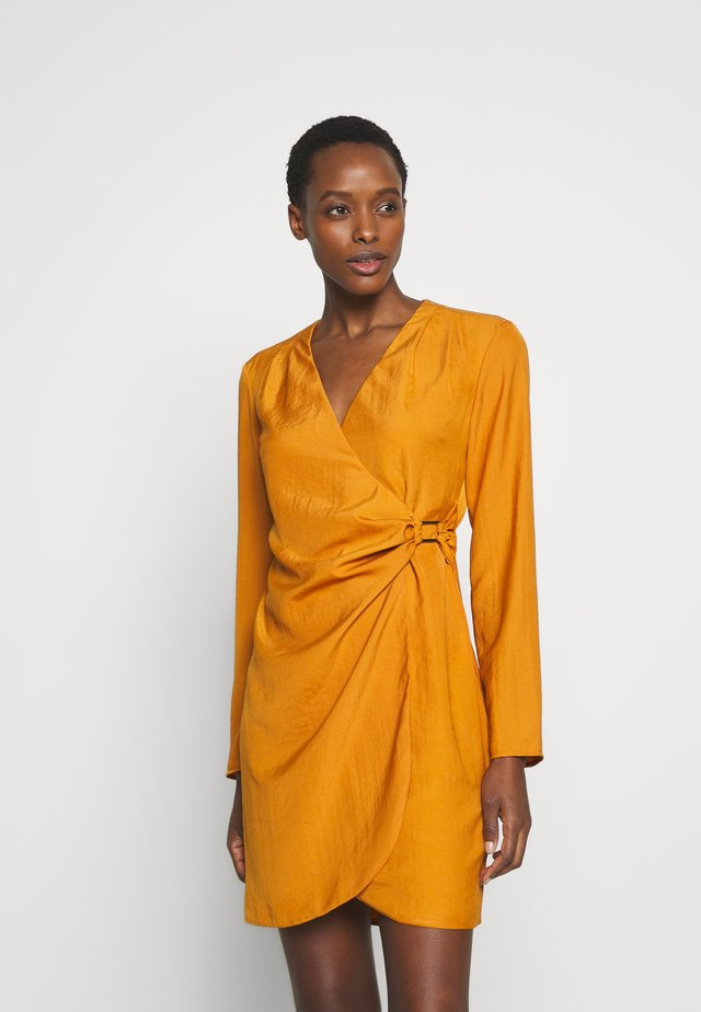ABITO DRESS - Cocktail dress / Party dress - copper orange