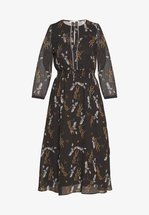ABITO DRESS - Day dress - ebony leopard
