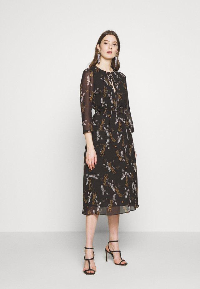 ABITO DRESS - Vestido informal - ebony leopard