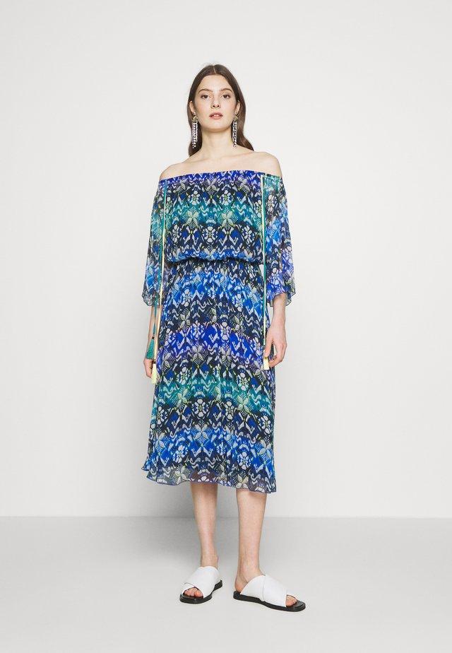 ABITO DRESS - Vestido informal - yellow/blue