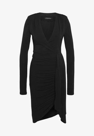 ABITO DRESS - Jerseykjole - nero