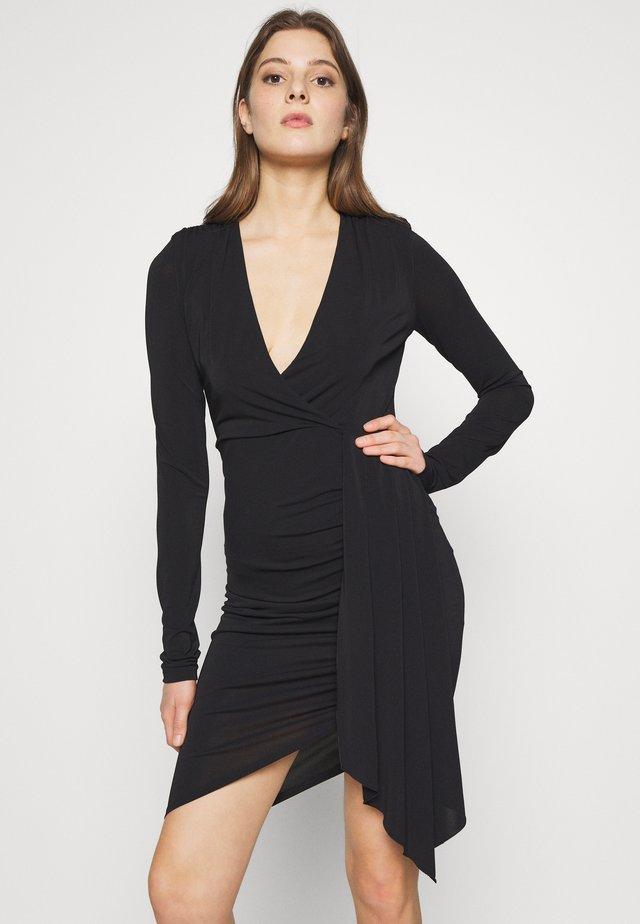 ABITO DRESS - Sukienka z dżerseju - nero