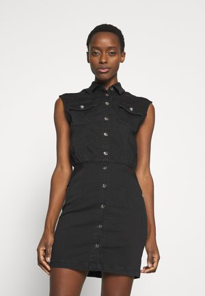 ABITO - Denim dress - nero
