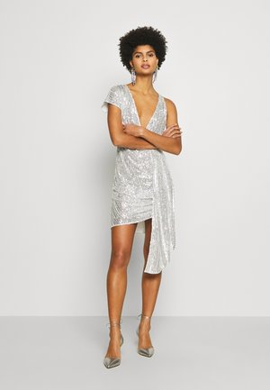 ABITO/DRESS - Cocktailkjole - silver-coloured