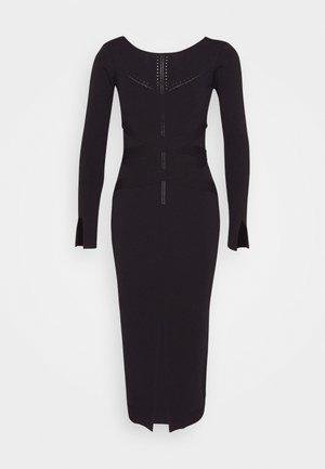 BONDAGE DRESS - Fodralklänning - nero