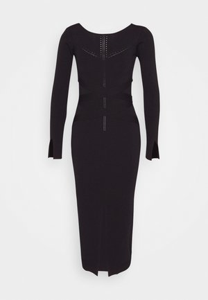 BONDAGE DRESS - Shift dress - nero