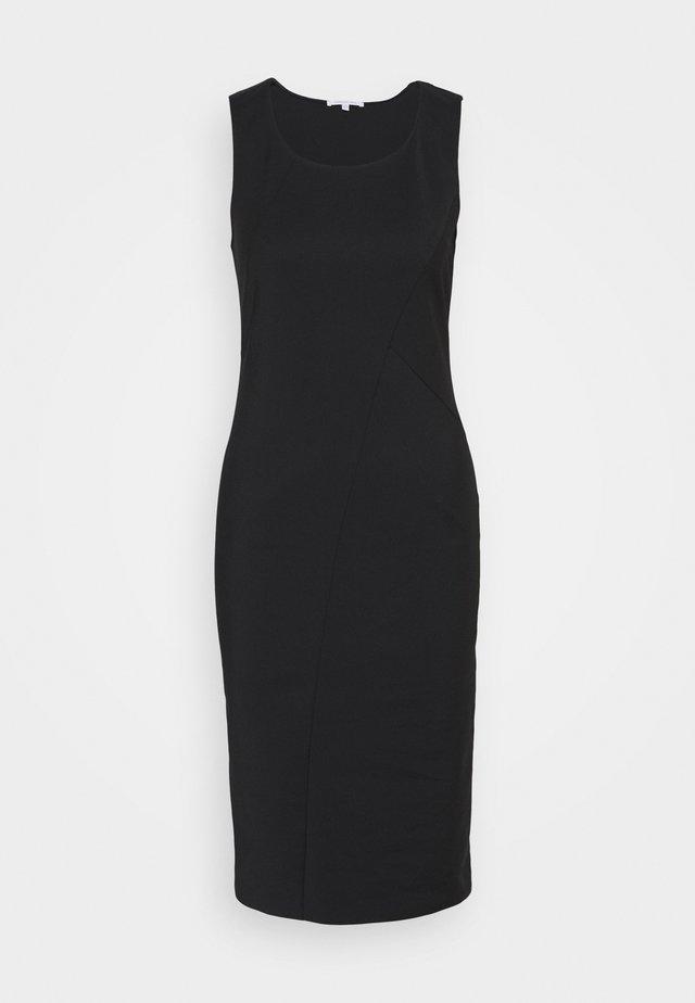 DRESS LONGER LENGTH - Długa sukienka - nero