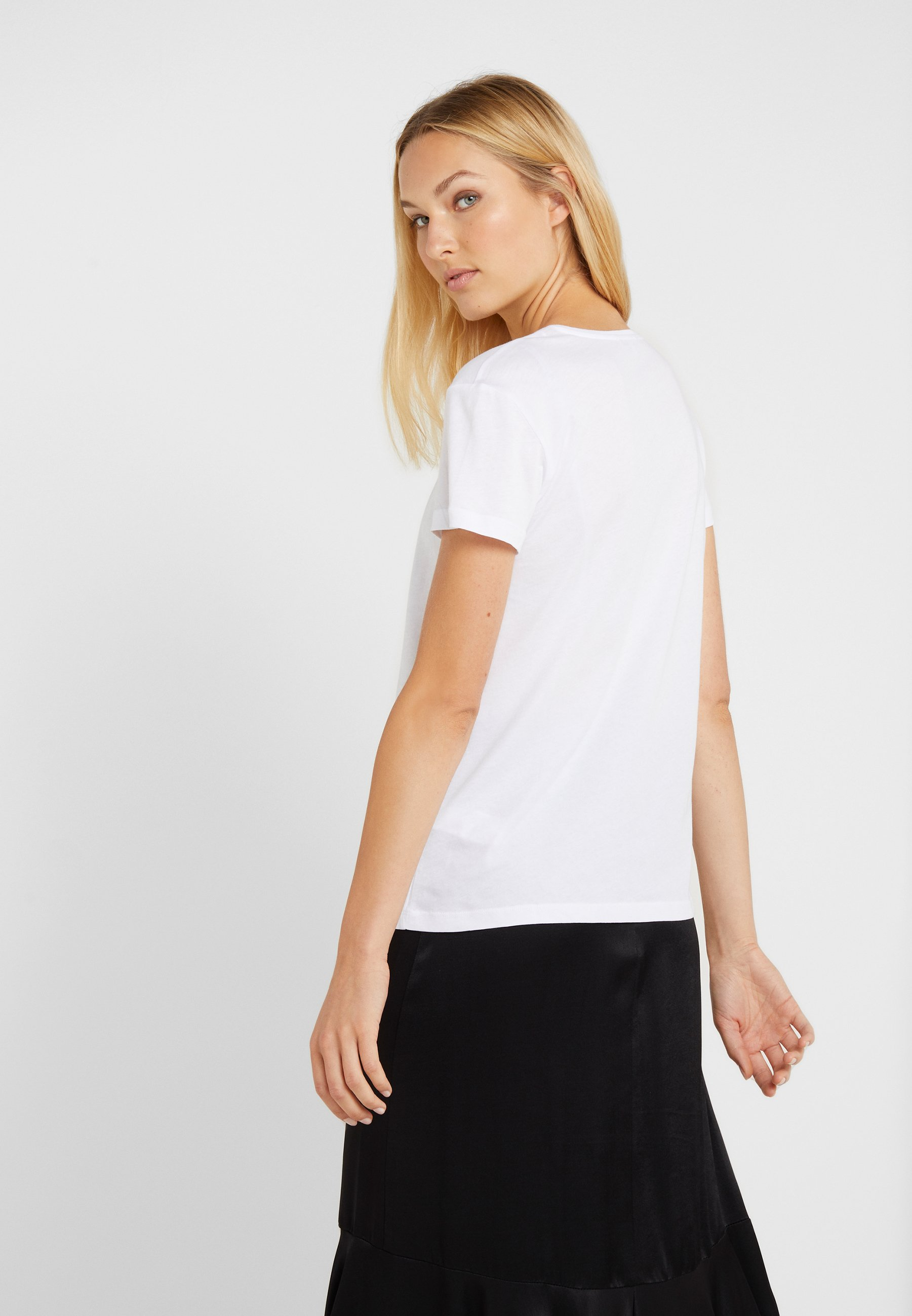 MagliaT Patrizia Bianco Pepe Imprimé shirt PXTkZOui