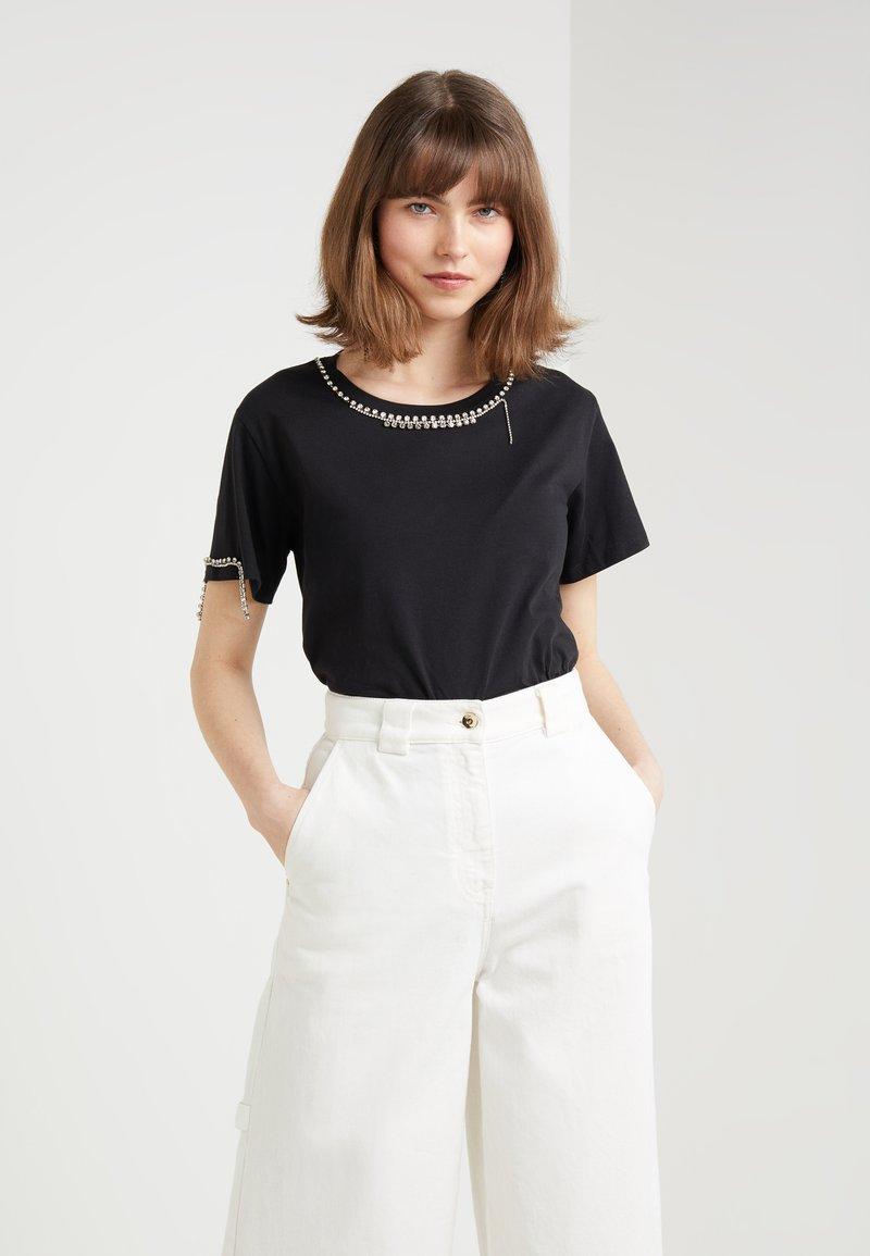 Patrizia Pepe - T-shirt z nadrukiem - nero