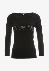 Patrizia Pepe - Bluzka z długim rękawem - nero - 3