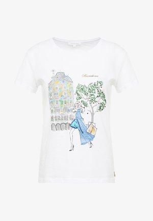 T-shirt print - bianco/hollywood