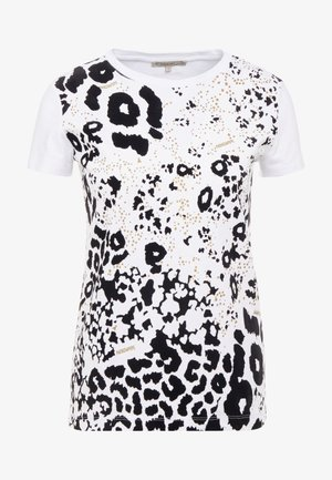 MAGLIA - T-shirt con stampa - bianco ottico