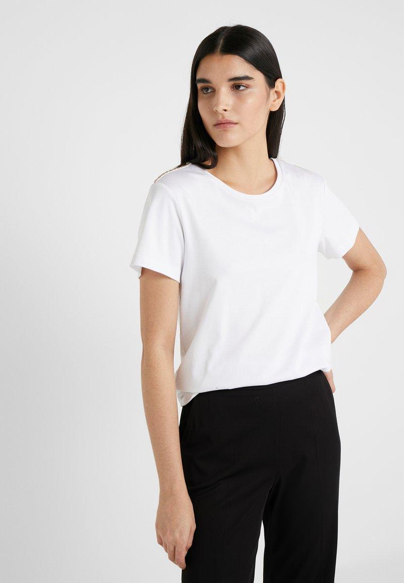 Patrizia Pepe - Print T-shirt - bianco ottico