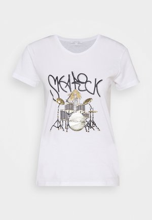 GITARRE - Print T-shirt - bianco